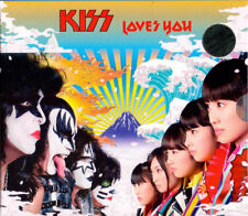 KISS - Loves You - Limited 6 gold CD Box inc. 40-page full-colour booklet