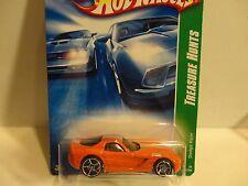 2008 Hot Wheels Treasure Hunt #168 Orange '06 Dodge Viper w/O5 Wheels