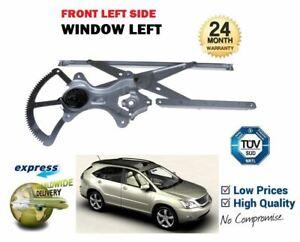 FOR LEXUS RX300 3.0i 2000-2003 NEW LEFT HAND FRONT WINDOW WINDER REGULATOR