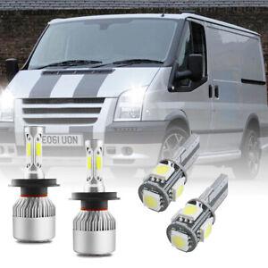 For Ford Transit MK7 32w Super White Xenon High/Lo/Slux LED Side Light Bulbs uk