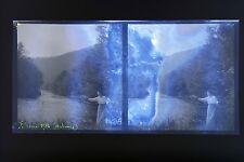 Felenne Ardennes Photo stéréo négatif sur film souple 1914