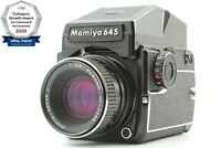 【NEAR MINT】 Mamiya M645 1000s AE Finder + Sekor C 80mm f/2.8 From Japan 1311