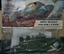 Rare Airfix Bagged Red stripe OO Scale British WWI MK1 Tank