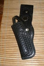 Don Hume Black Leather Gun Holster H704