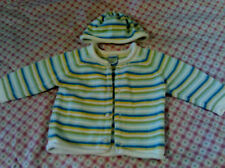 """2 piece striped sweater set by """"Please Mum"""" Canada 6 mo with hat"""