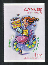 Australia 2007 Zodiac/Cancer sa bklt-Attractive Art Topical (2657a) Mnh