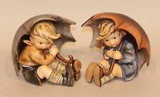Hummel Figurines Umbrella Boy & Girl 152/0 152 / 0 A & B in Boxes