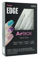 Fing'rs Edge Artbox Nail Art Tools Dotting Brushes and Stencils 32872