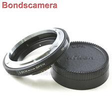 Macro af canon fd lentille confirmer pour nikon f mount adaptateur caméra D600 D800 D7000