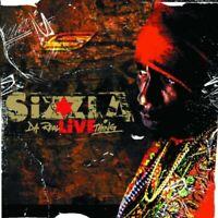 SIZZLA - DA REAL LIVE THING (CD+DVD) 2 CD + DVD NEU