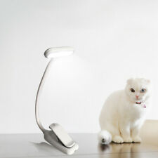 LED Klemmleuchte Leselampe Leseleuchte Schreibtischlampe Leselampe Buch Klemme