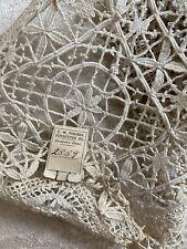 Antique Tuscany Filet Lace Original Tags Trim Ecru 37�