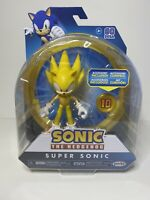 "NEW SONIC THE HEDGEHOG Jakks Pacific 4"" WAVE 3 SUPER SONIC - IN HAND!"