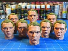 Steve McQueen Custom Painted 1/6 Head Sculpt - for Action Figure Made To Order