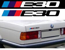 LOGO E30 POUR BMW MOTORSPORT SPORT RACING 18cm AUTOCOLLANT STICKER BA227