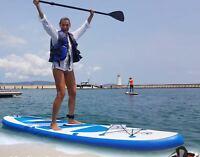 Vielex 3.2 m SUP Board Stand up Paddle for aquatisch Surfen Aufblasbar 12kg