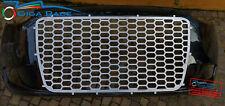 fiat grande punto scudo frontale griglia anteriore kit estetico tuning acciaio