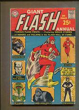 The Flash Annual #1 - Origin of Kid Flash, Grodd - 1963 (Grade 3.0) Wh