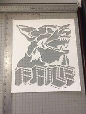 Fraternal Order Of Police Street Art  Stencil Large