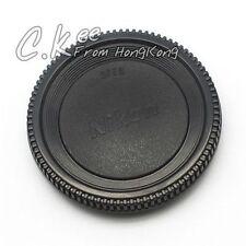 Lens Rear Cap and Body Cap for Nikon