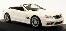 Voitures, camions et fourgons miniatures en métal blanc cars pour Mercedes