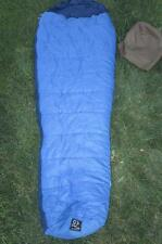 "Vtg 70s Snow Lion Sleeping Bag Berkley CA 31"" x 88"" Mountaineering Rare Polyfill"