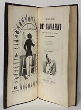 GAVARNI. Œuvres choisies Première et deuxième séries. Premier tirage Hetzel 1846