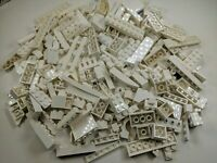 100 Random LEGO White Bulk Lot of Bricks Plates Specialty Parts Pieces