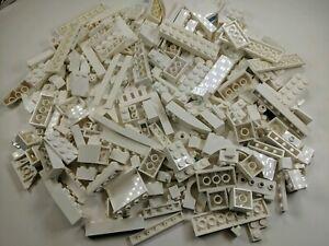 100 Random LEGO White Bulk Lot of Bricks Plates Specialty Parts Pieces
