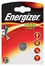 ENVOI AVEC SUIVI - 1 Pile bouton CR1620 Energizer Lithium 3v
