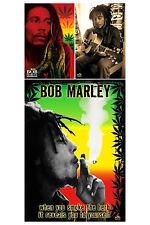 Bob Marley 3 Individual Posters! Herb Dreads Sepia Exodus St. Ann Jamaica New!