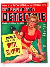 """Headquarters Detective"" January 1948"