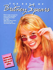 The Best of Britney Spears (Piano Vocal Guitar), Good Condition Book, Spears, Br