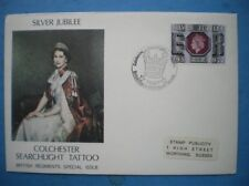 ARMY COVER - 1977 SILVER JUBLIEE COLCHESTER SEARLIGHT TATTOO