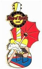 Hard Rock Cafe VENICE 2009 FERROGOSTO GUITAR PIN Catalog #52421 BBQ Umbrella NEW