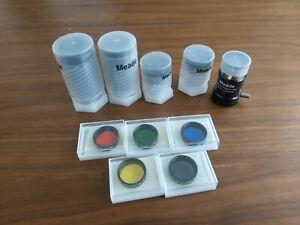 Meade Series 4000 Telescope Plossl Eyepiece And Filter Set
