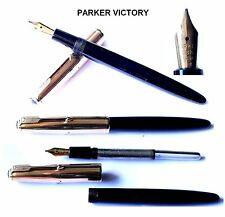 "Stylo plume or PARKER VICTORY  ""Aérométric"" ca.1950 - Fountain Pen"