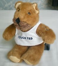 Vintage 1985 Smaller Tough Ted bear-excellent condition