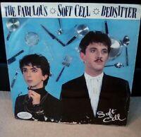 """Soft Cell – Bedsitter Vinyl 12"""" P/S Single UK BZS 612 1981"""