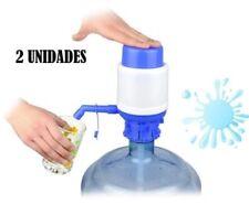 2X DISPENSADOR BOMBA DE AGUA PARA GARRAFA UNIVERSAL 5L 6L 8L 10L GARANTIA
