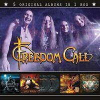 FREEDOM CALL - 5 ORIGINAL ALBUMS IN 1 BOX  5 CD NEU