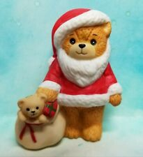 Enesco Lucy and Me Lucy Rigg small Santa bear with bag of toys