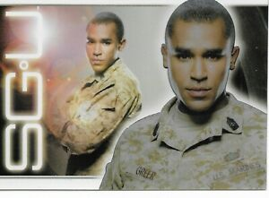 Stargate Universe SGU Season One Jamil Smith Crew Card Insert Trading Card #PL6