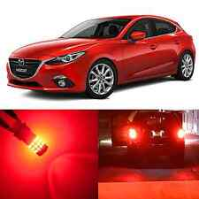 Alla Lighting Brake Turn Signal Light 7443 7440 Red LED Bulb for Mazda CX-3 CX-5