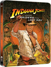 Indiana Jones and the Raiders of the Lost Ark Bluray Steelbook Brand New Blu-ray