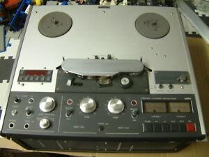 REVOX PR99 MKIII HS IEC ORIGINAL 2CH RECORDER 3XMETAL SWITCHES 8