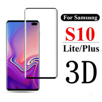 3D Curved Tempered Glass Screen Protector For Samsung Galaxy S10 S10e S10 Plus