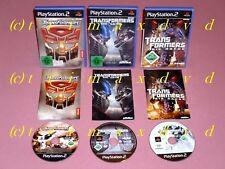 Transformers & Transformers The Game & Transformers Die Rache _ Erstausgaben