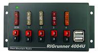 WEST MOUNTAIN RR-4004U-C RIGrunner Power Strip w/USB