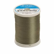 Sulky Of America 268d 40wt 2-Ply Rayon Thread, 850 yd, Light Khaki